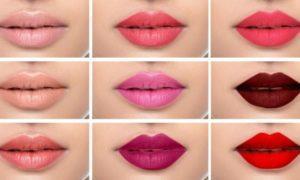 Как подобрать цвет помады для губ