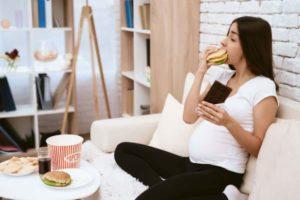 как сбросить вес во время беременности