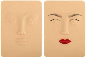 Накладная кожа для лица